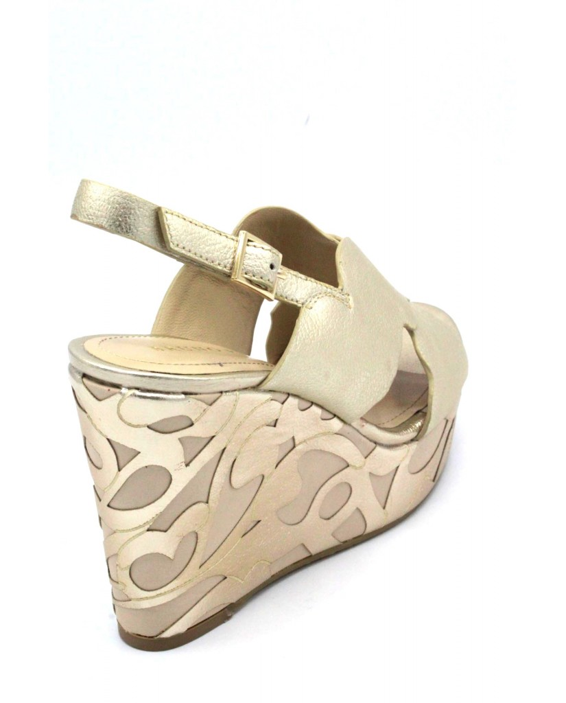 Bruno premi Sandali F.gomma 35/41 r6301n made in italy Donna Platino Fashion