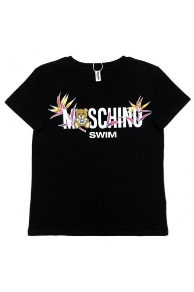 Moschino T-shirt   T-shirt 92%co8%ea Donna Fashion
