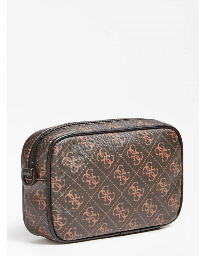 Guess Backpacks   Vezzola small necessaire Uomo Marrone Fashion