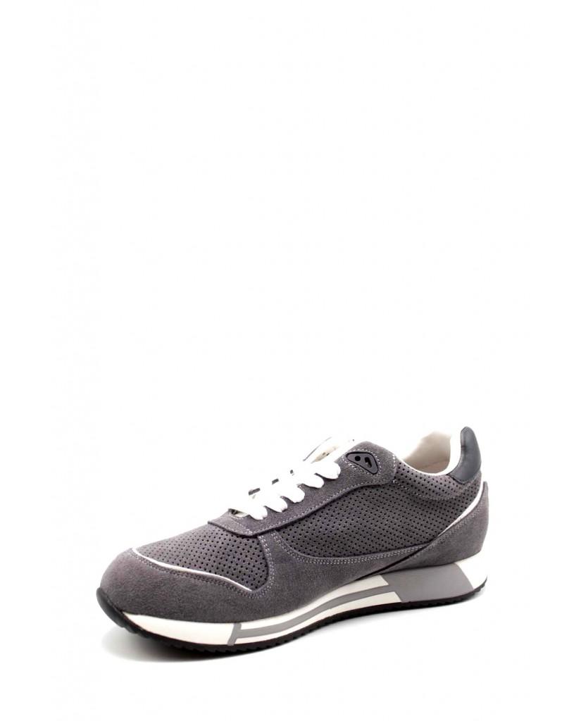 Alberto guardiani Sneakers F.gomma Fresno 010 low m suede grey Uomo Grigio Casual
