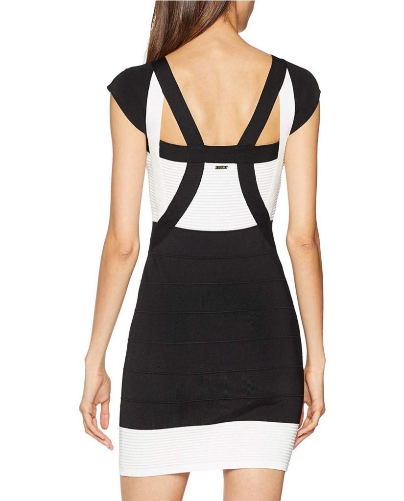 Guess Abiti   Altea swtr dress Donna Nero Fashion