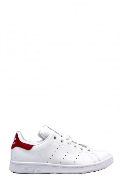 Adidas Sneakers F.gomma 35/41 stan smith rosa Donna Bianco Sportivo