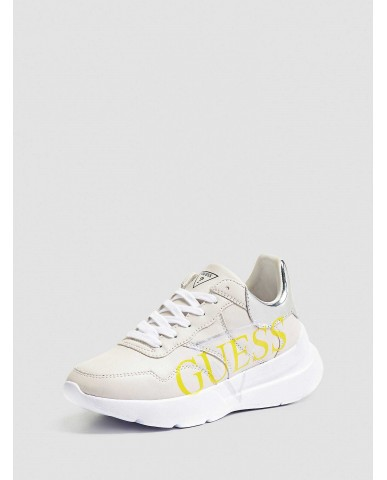 Guess Sneakers   Milez active lady leather like Donna Bianco Fashion