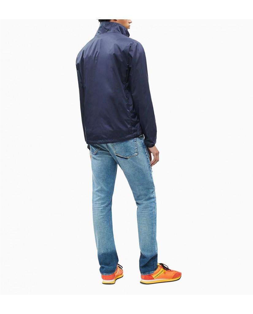 Calvin klein jeans Giacchetti   Nylon harrington Uomo Blu Fashion