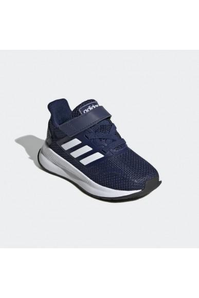 Adidas Sneakers F.gomma Runfalcon i Bambino Blu Streetwear