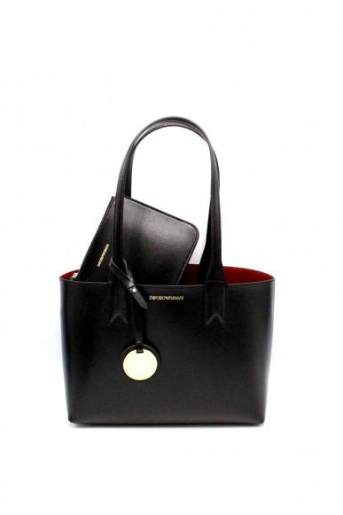 Emporio armani Borse - Minidollaro shoppingdandelion y3d080 yh15a Donna Nero/rosso Fashion