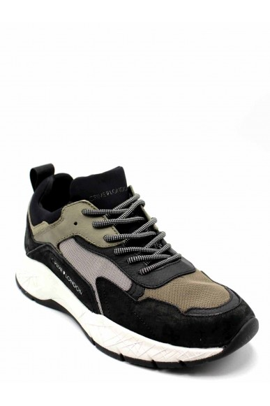 Crime london Sneakers F.gomma Uomo Verde Fashion