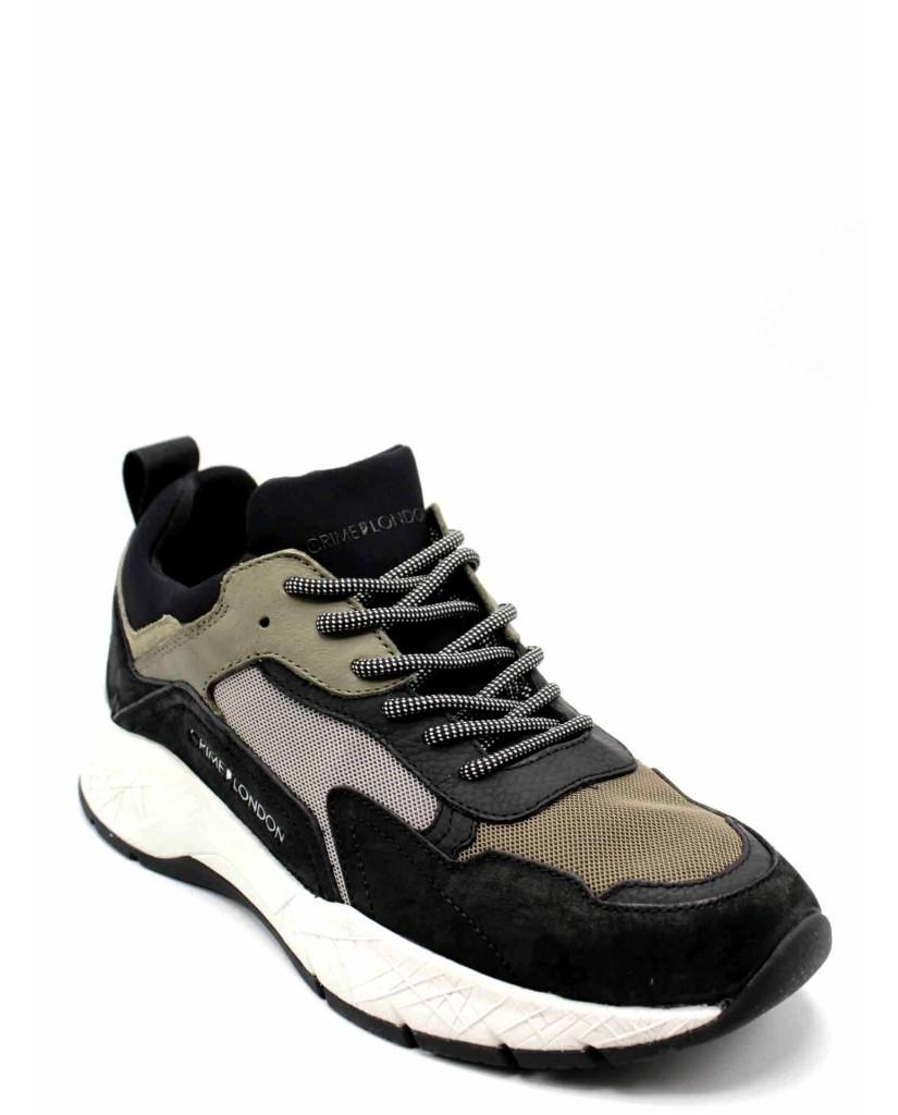 Crime london Sneakers F.gomma Uomo Verde Fashion