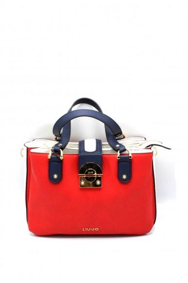 Liu.jo Borse - M satchel irvine Donna Rosso Fashion