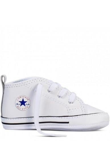Converse Sneakers F.gomma 17/19 Bambino Bianco Sportivo