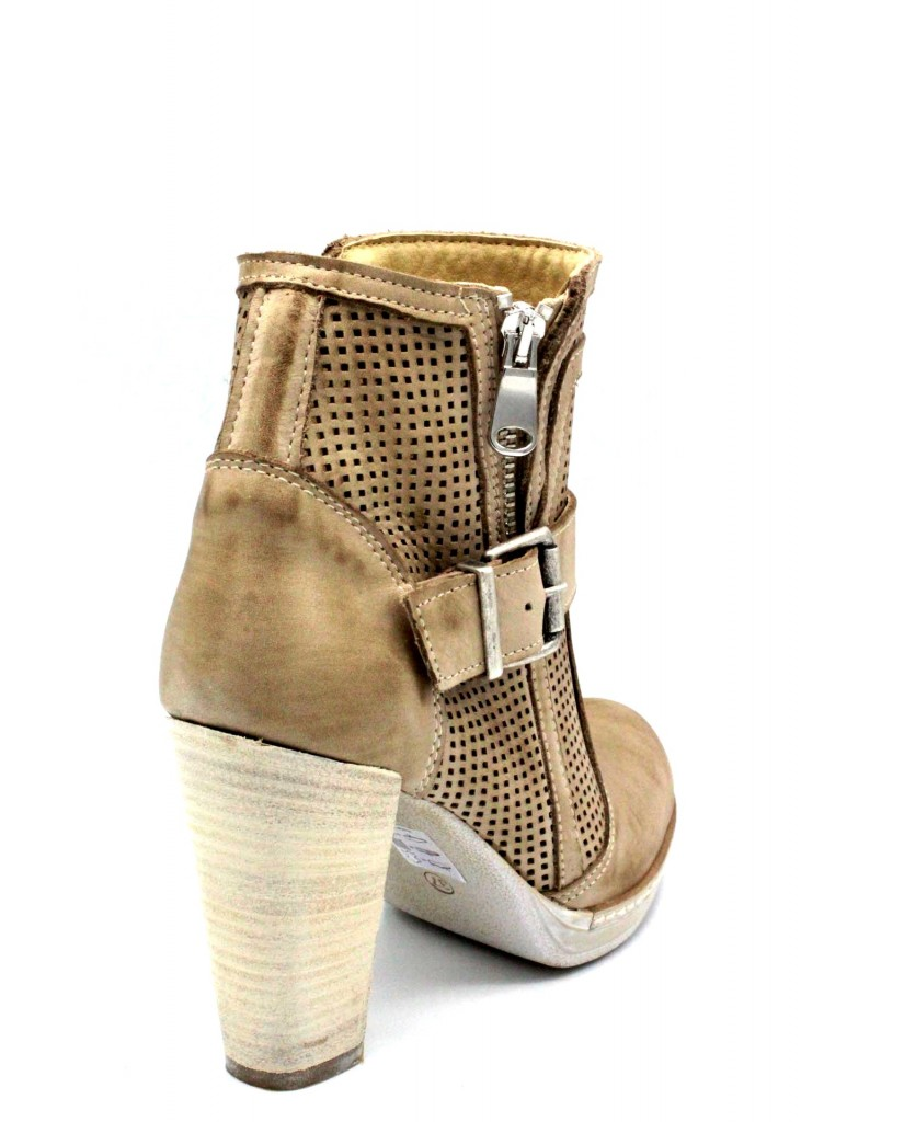 Euroshoes Tronchetti F.gomma 35-41 made in italy Donna Taupe Casual