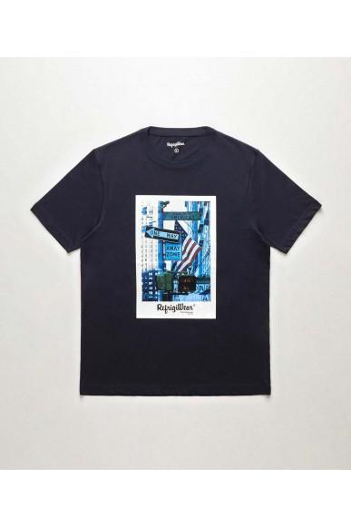 Refrigiwear T-shirt   Prince t-shirt Uomo Blu Fashion