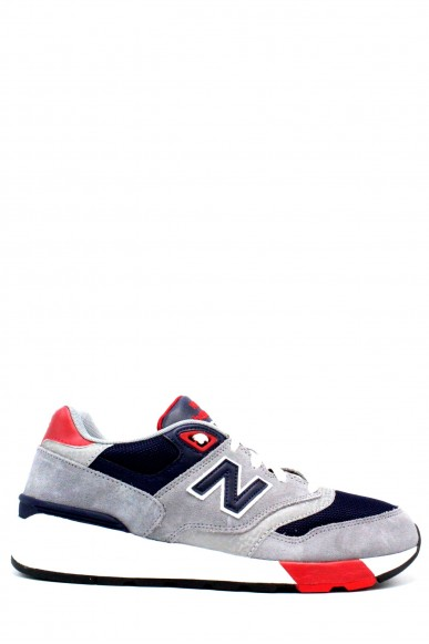 New balance Sneakers F.gomma 39-46 597 Uomo Grigio Sportivo