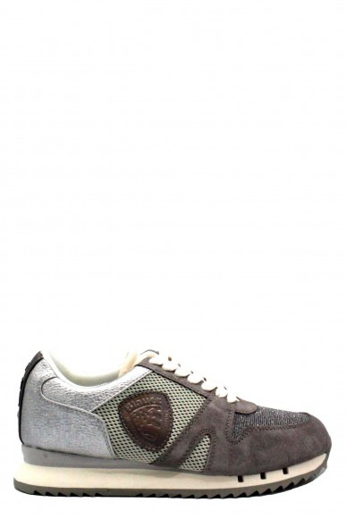 Blauer Sneakers   Donna Grey Fashion