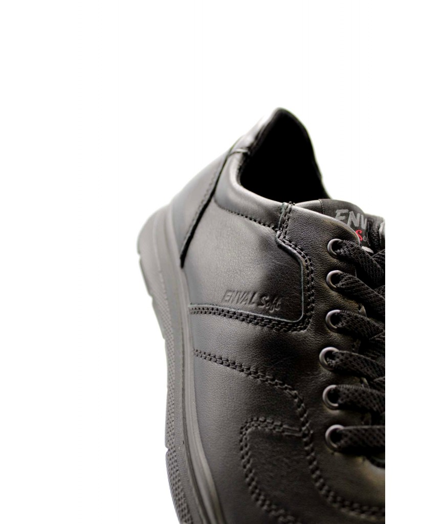 Enval soft Sneakers F.gomma U bn 62253 Uomo Nero Casual