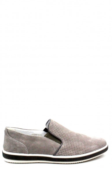 Igieco Slip-on   1108822 made in italy Uomo Grigio Fashion