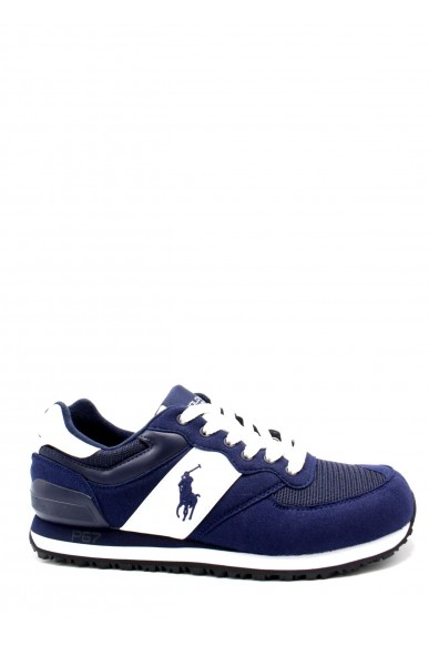 Ralph lauren Sneakers F.gomma 40/45 slaton pony Uomo Blu Fashion