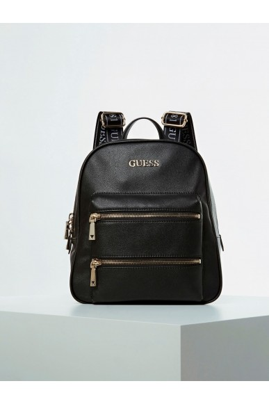 Guess Backpacks   Caley large backpack Donna Nero Fashion