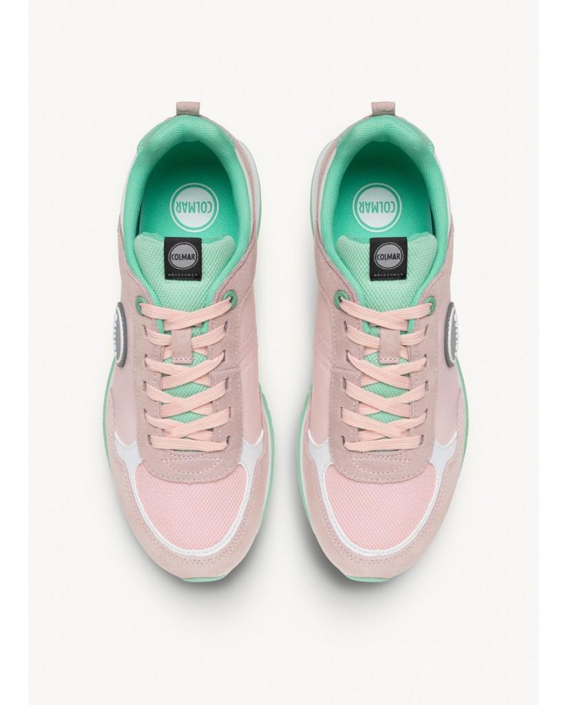 Colmar Sneakers F.gomma Travis colors Donna Rosa Fashion