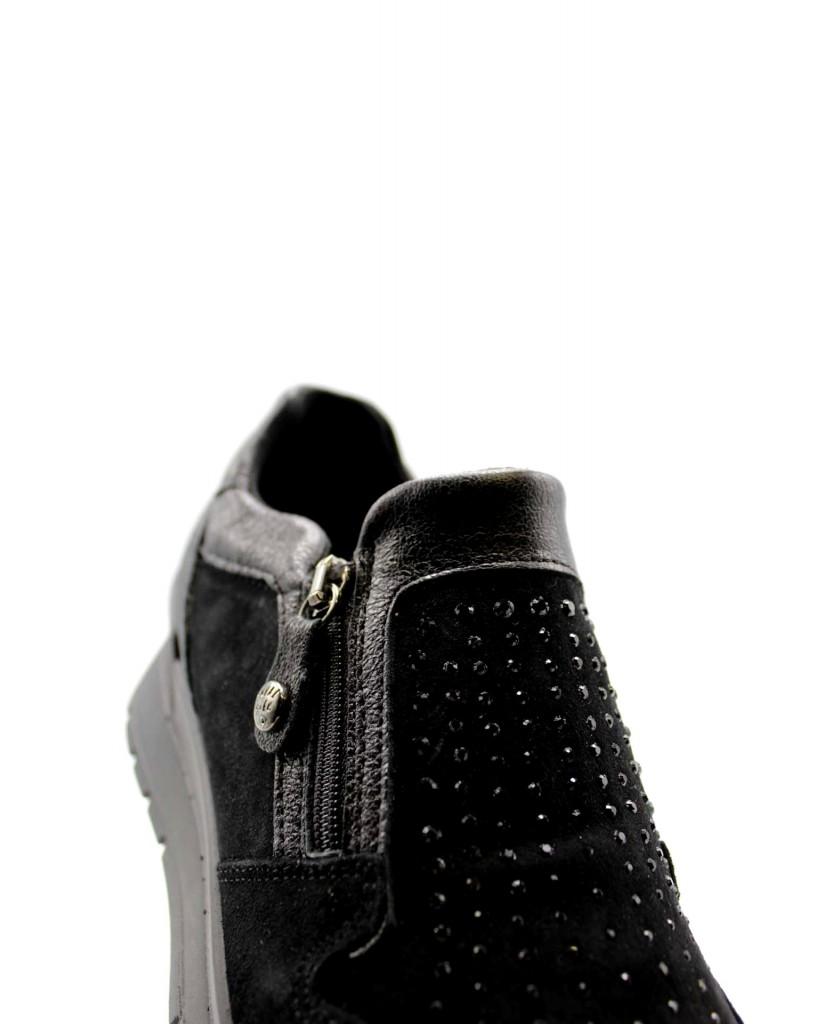 Enval soft Sneakers F.gomma D ak 62821 Donna Nero Casual