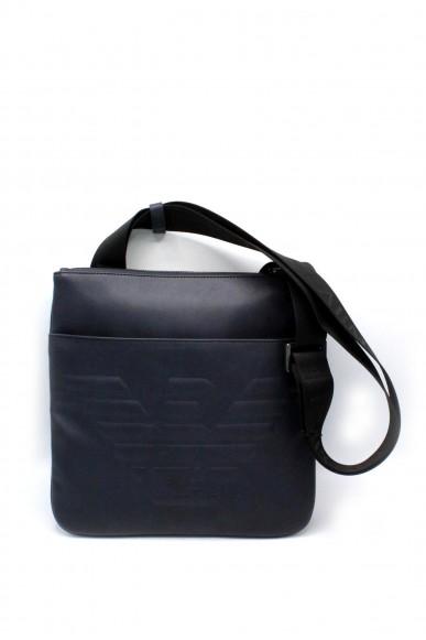 Emporio armani Tracolle - Tracolla con maxi logo y4m180 yg90j Uomo Blu navy Fashion