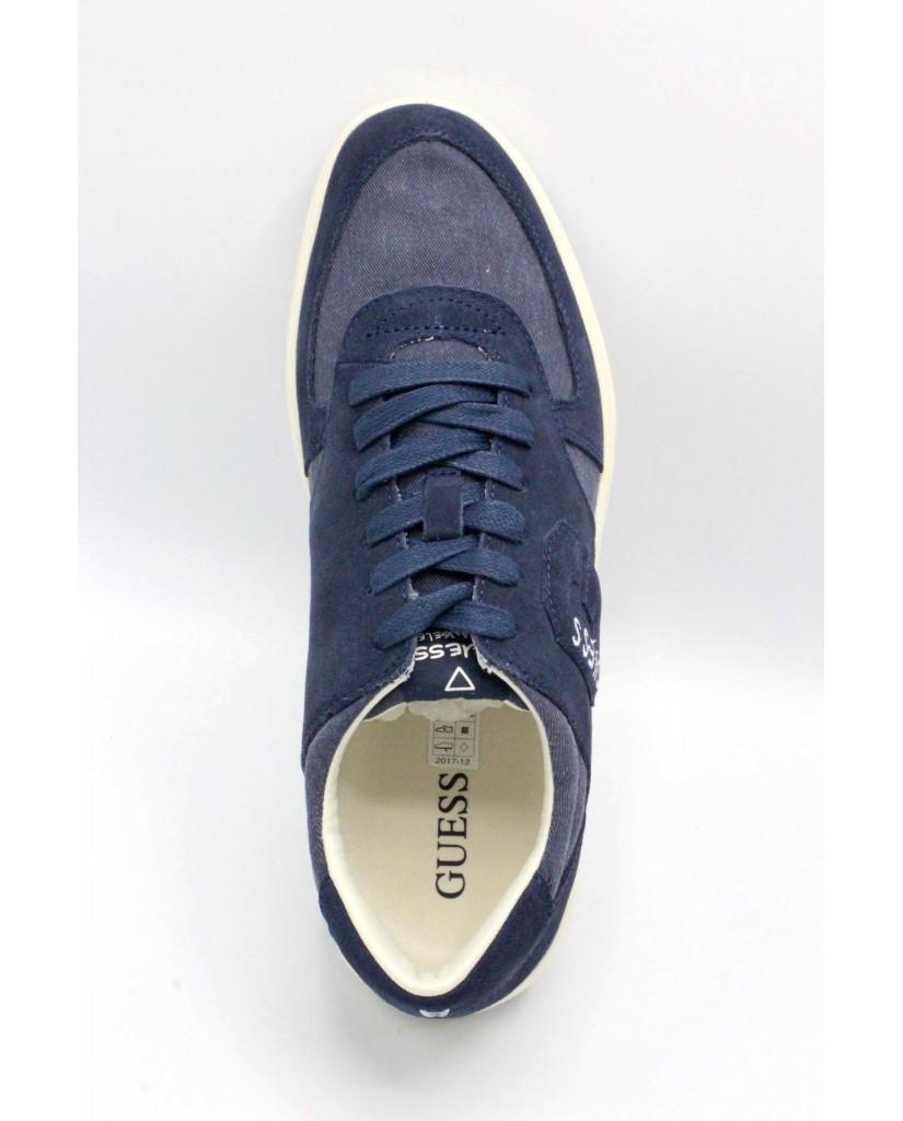 Guess Sneakers F.gomma Derrik Uomo Blu Fashion