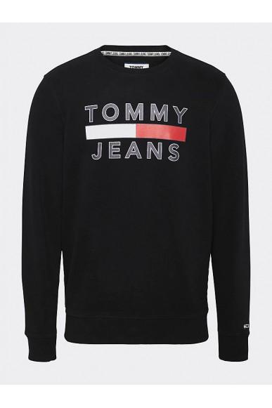 Tommy hilfiger Felpe   Tjm essential graphi Uomo Nero Fashion