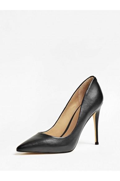 Guess Decollete   Okley decollete (pump) leather Donna Nero Fashion