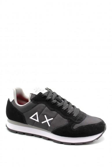 Sun68 Sneakers F.gomma 40-46 Uomo Nero Sportivo