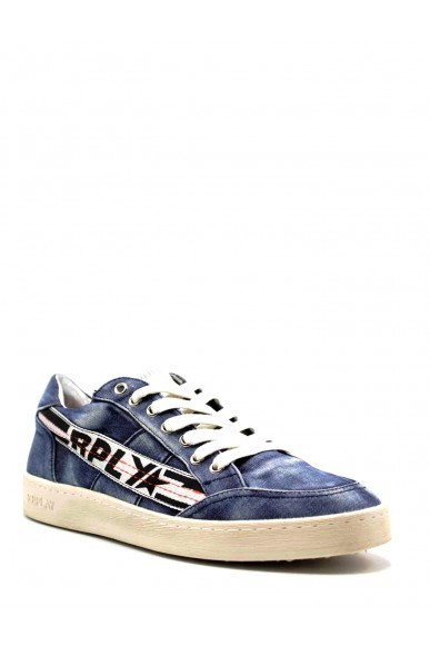 Replay Sneakers F.gomma 40-45 Uomo Blu Casual