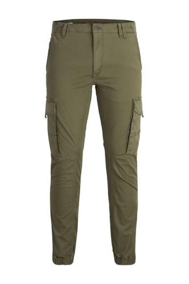 Jackejones Pantaloni   Jjipaul jjflake akm 542 olive night Uomo Verde Fashion