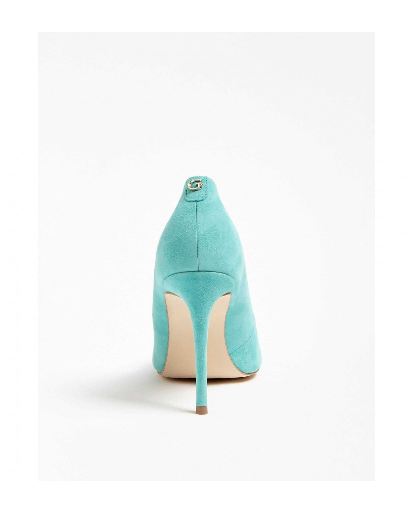 Guess Decollete   Belan decollete (pump) suede Donna Turchese Fashion