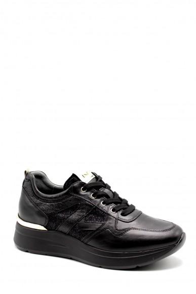 Nero giardini Sneakers F.gomma Nappa pandora antrac t.notte grigio Donna Nero Casual