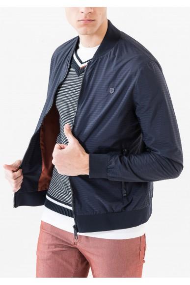 Antony morato Giacche   Bombera righe con chiusura zip Uomo Blu intenso Fashion