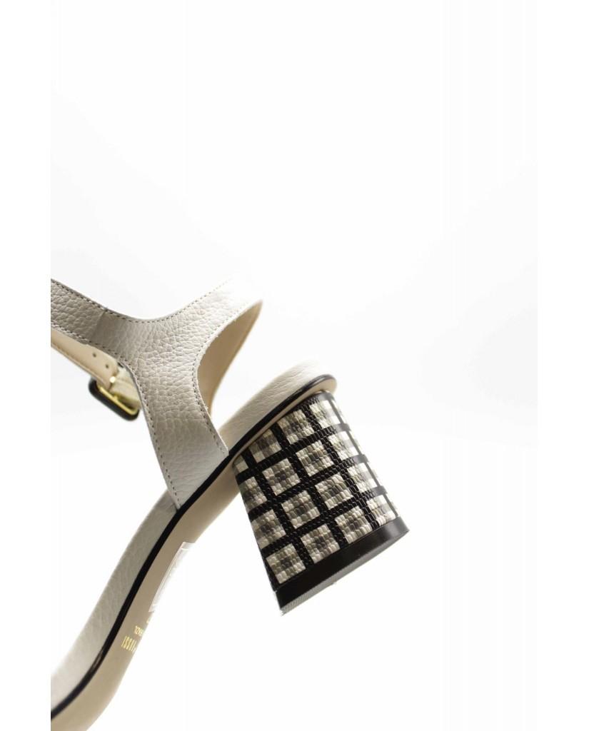 Capelli rossi Sandali F.gomma 8332-402-507 Donna Bianco Fashion