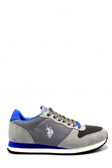 Us polo Sneakers F.gomma 40/46 sheridan1 ss18 Uomo Grigio-blu Fashion