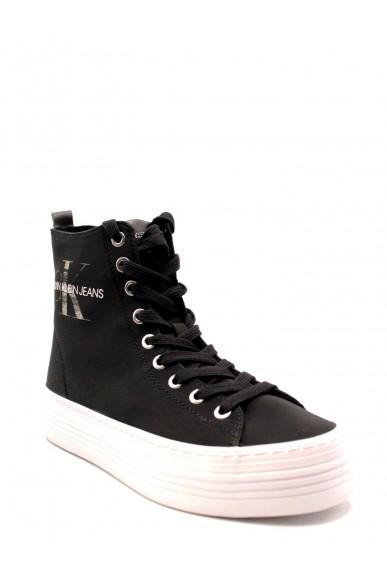Calvin klein Sneakers F.gomma 36-40 Donna Nero Casual