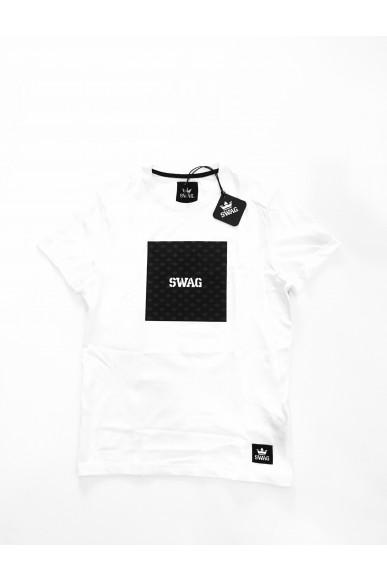 Swag T-shirt Xs-xl Unisex Bianco