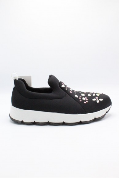 Happiness Slip-on F.gomma 36/41 Donna Nero Fashion