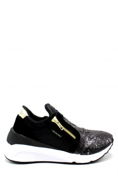 Versace jeans Sneakers F.gomma 36-41 Donna Nero Casual