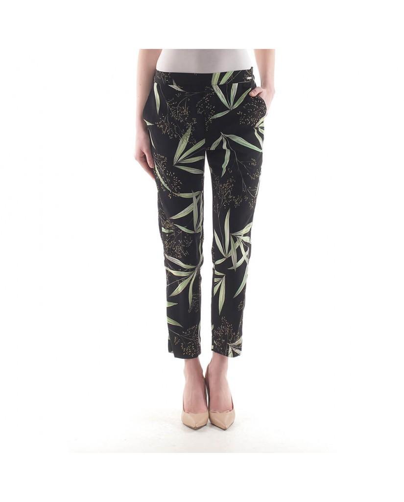 Guess Pantaloni Donna Nero Abbigliamento Eleganti Roma