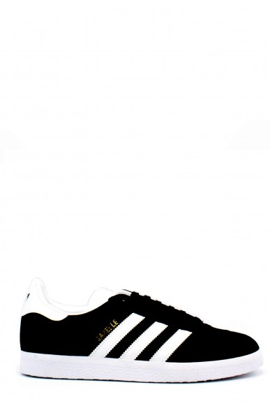 Adidas Sneakers F.gomma 39/46 gazzelle Uomo Nero-bianco Sportivo