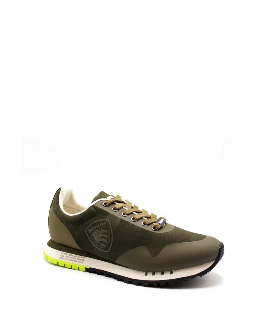 Blauer Sneakers F.gomma Denver02/cam Uomo Verde Fashion