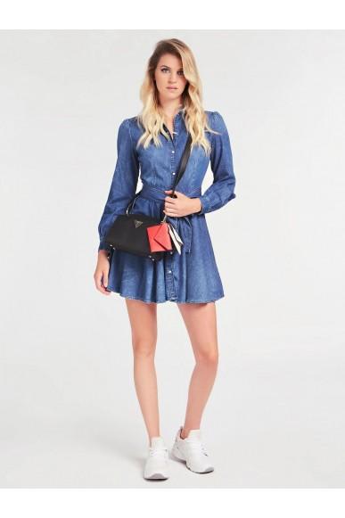 Guess Tracolle   Kirby mini crossbody Donna Nero Fashion