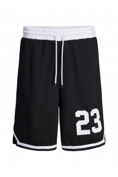 Jackejones Bermuda   Jjilegends sweat shorts nb Uomo Nero Casual