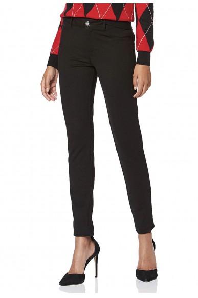 Guess Pantaloni   Curve x Donna Nero Fashion