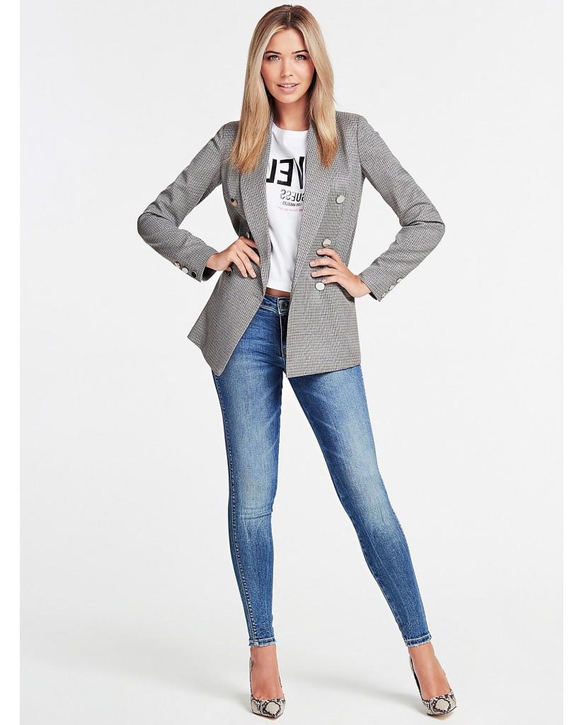 Guess Jeans   Ultra curve Donna Blu Fashion