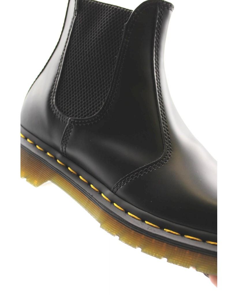 Dr. martens Stivaletti   2976 ys smooth black Donna Nero Fashion