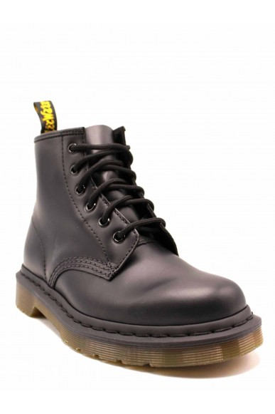 Dr. martens Stivaletti F.gomma 101 smooth black - 6 eye boot Donna Nero Fashion