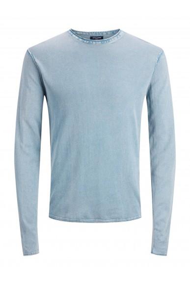 Jackejones Maglioni   Jprbluleonard knit crew neck Uomo Blu Fashion